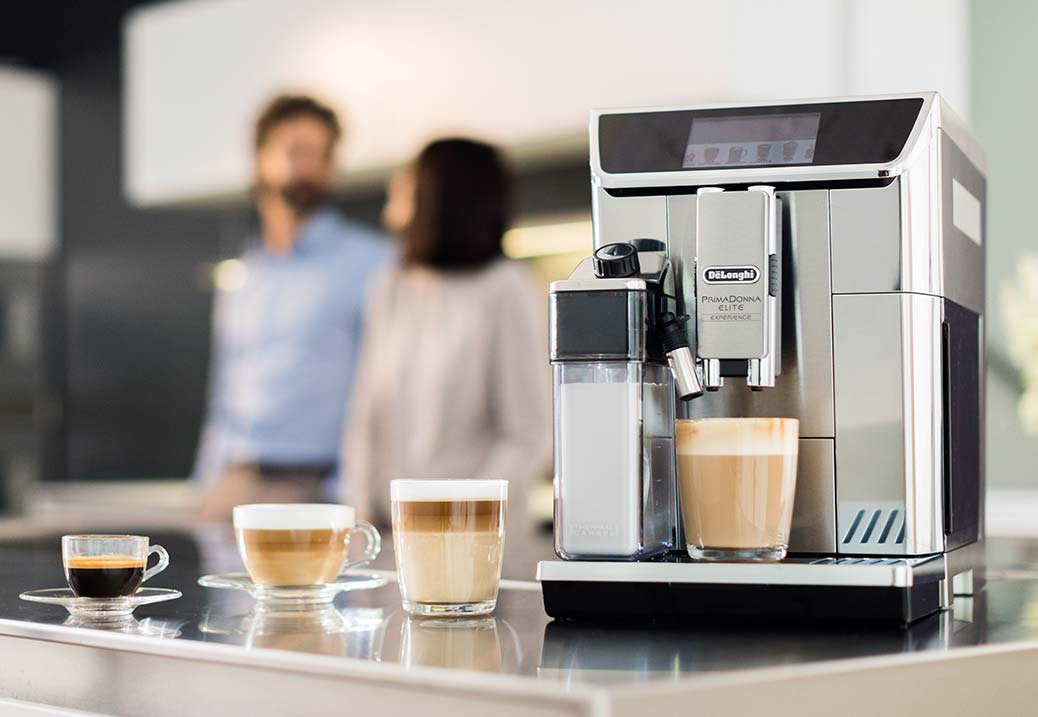De'Longhi Bean to Cup Coffee Machines